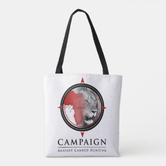 CACH & Not Your Trophy; double sided tote bag