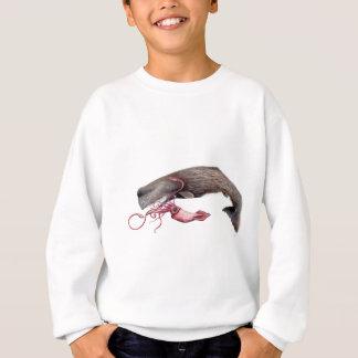 Cachalote and calamary sweatshirt