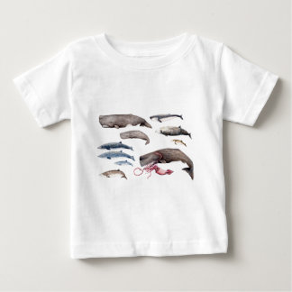 Cachalote and zifios: Whales of the depths Baby T-Shirt