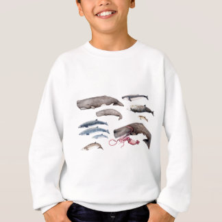 Cachalote and zifios: Whales of the depths Sweatshirt