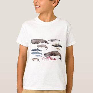 Cachalote and zifios: Whales of the depths T-Shirt
