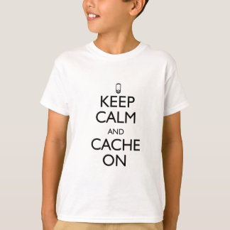 Cache On T-Shirt