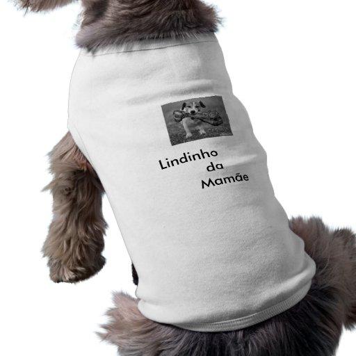cachorro-levando-um-osso-grande_1, Lindinho    … Dog T Shirt