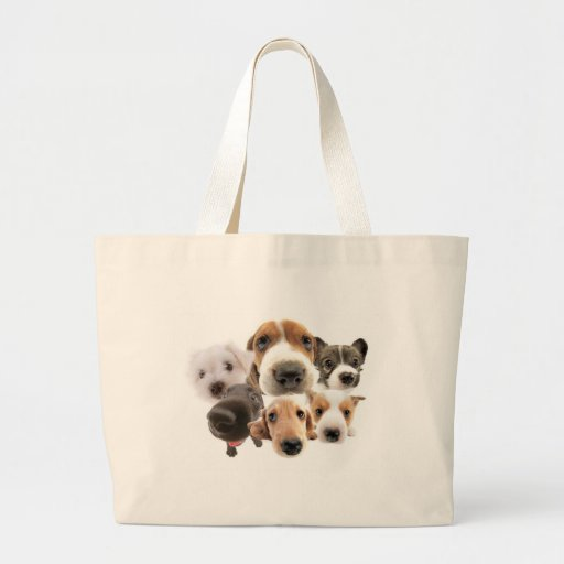 Cachorros Canvas Bag