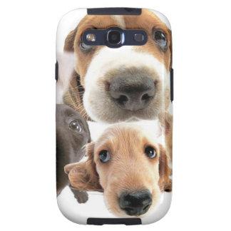 Cachorros Galaxy SIII Case