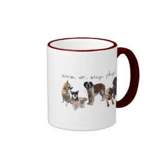 cachorros ringer mug