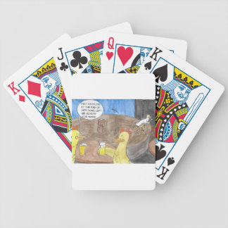 CACKLING CHICKEN BICYCLE PLAYING CARDS