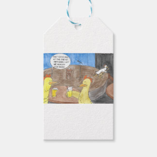 CACKLING CHICKEN GIFT TAGS