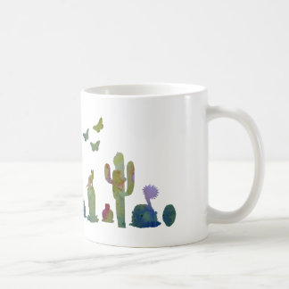 Cacti art coffee mug