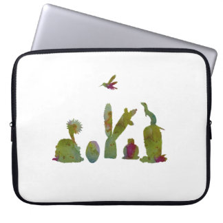 Cacti art laptop sleeve
