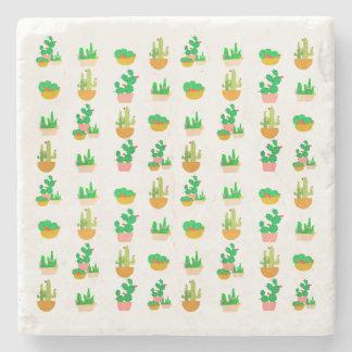 Cacti Festival Stone Coaster