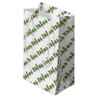 cacti grouping small gift bag