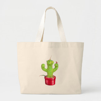 Cacticorn Large Tote Bag