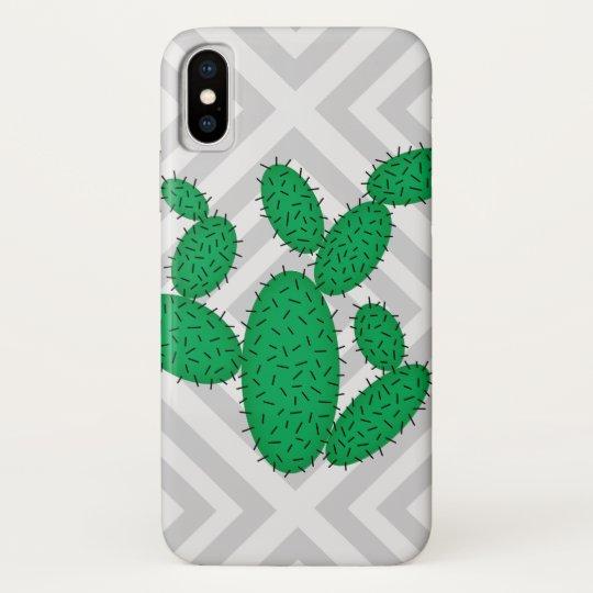 Cactus - Abstract geometric pattern - grey. Galaxy Nexus Cases