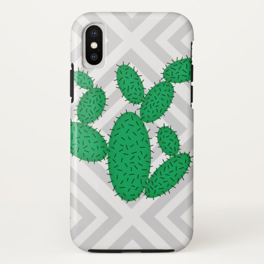 Cactus - Abstract geometric pattern - grey. HTC Vivid Cover