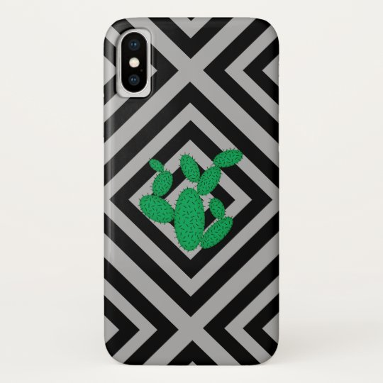 Cactus - Abstract geometric pattern - grey. Samsung Galaxy Nexus Cover