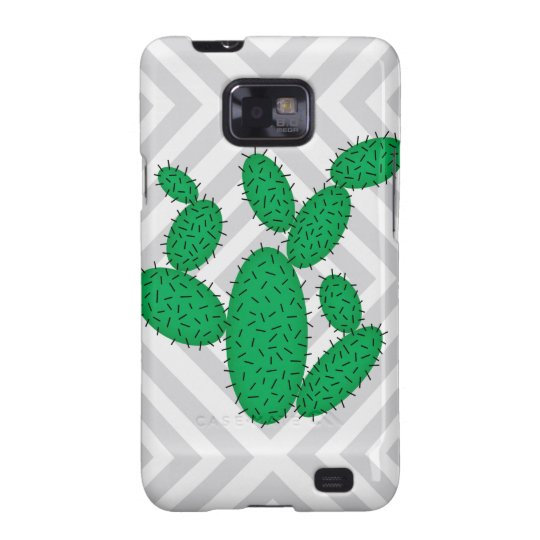 Cactus - Abstract geometric pattern - grey. Samsung Galaxy SII Cases