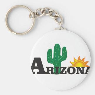 Cactus az key ring