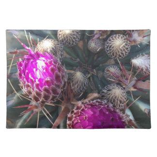 Cactus blossom placemat