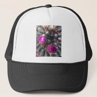 Cactus blossom trucker hat