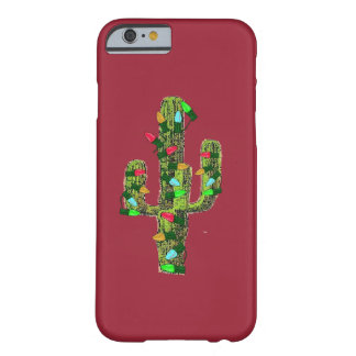 Cactus Christmas Barely There iPhone 6 Case