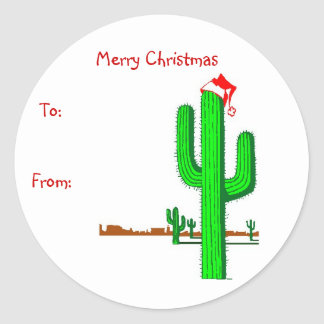 Cactus Christmas Tree - Gift Tags