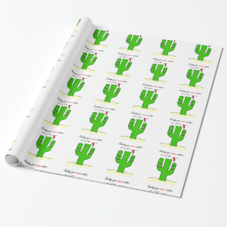 Cactus Christmas Wrapping Paper