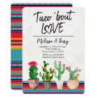 Cactus Couples Shower Invitation Taco Bout Love