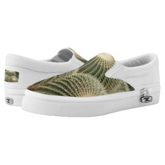 Cactus Custom Zipz Slip On Shoes,  Men & Women Printed Shoes