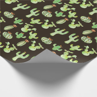 Cactus Desert Child Wrapping Paper