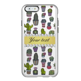 Cactus Faux Gold Bling Diamonds Incipio Feather® Shine iPhone 6 Case