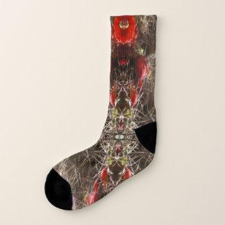 Cactus Flower 2 Socks