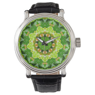 Cactus Flower Buds Fractal Watch