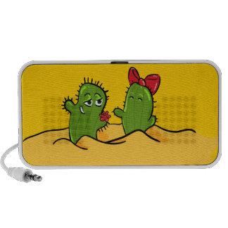 cactus flower love speacker laptop speaker