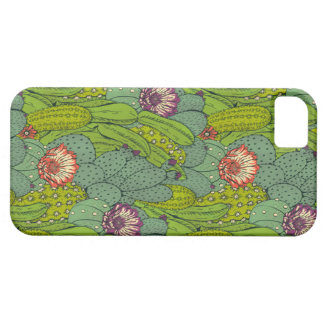 Cactus Flower Pattern iPhone 5 Case