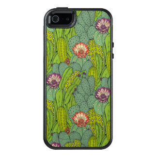 Cactus Flower Pattern OtterBox Apple iPhone 5 Case