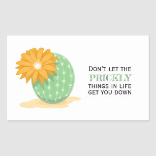 Quotes About Cactus  Cactus Flower Pricky Things Quote