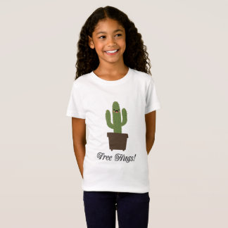 Cactus Free Hugs | Girls T-Shirt