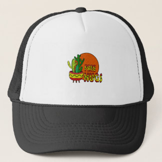 Cactus - free hugs trucker hat