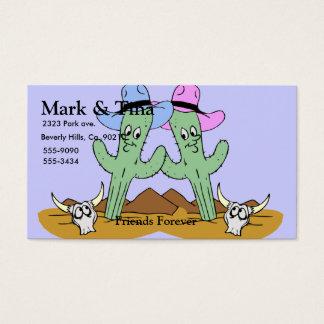 Cactus Friends Set Business Card