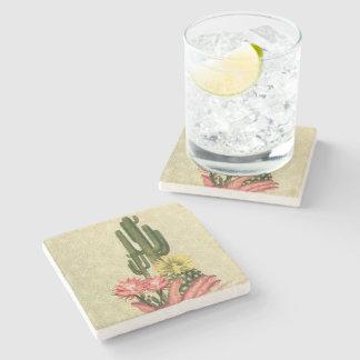 Cactus Handup - Coaster Stone Beverage Coaster