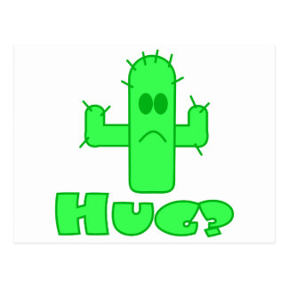 Cactus Hug Postcard