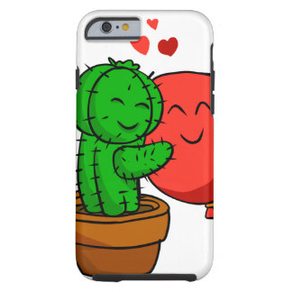 Cactus hugging balloon tough iPhone 6 case