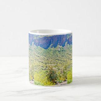 Cactus in the Canyon Coffee Mug