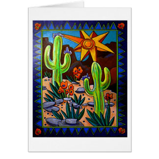 Cactus in the Southwest Card