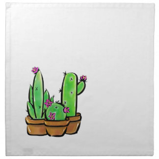 Cactus joy napkin