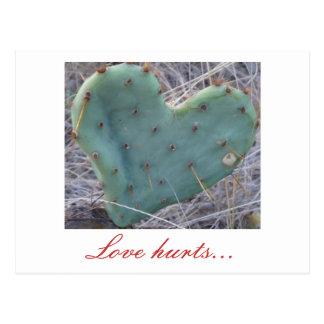 cactus, Love hurts... Postcard