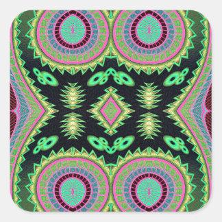Cactus Love Square Sticker