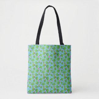 Cactus Me Outside (Blue) - Tote Bag