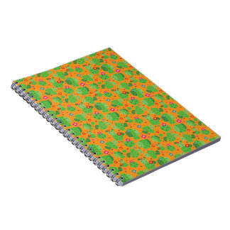 Cactus Me Outside (Orange) - Notebook